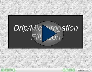 Drip and Microirrigation Filtration Video
